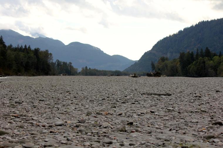 Squamish spit area.