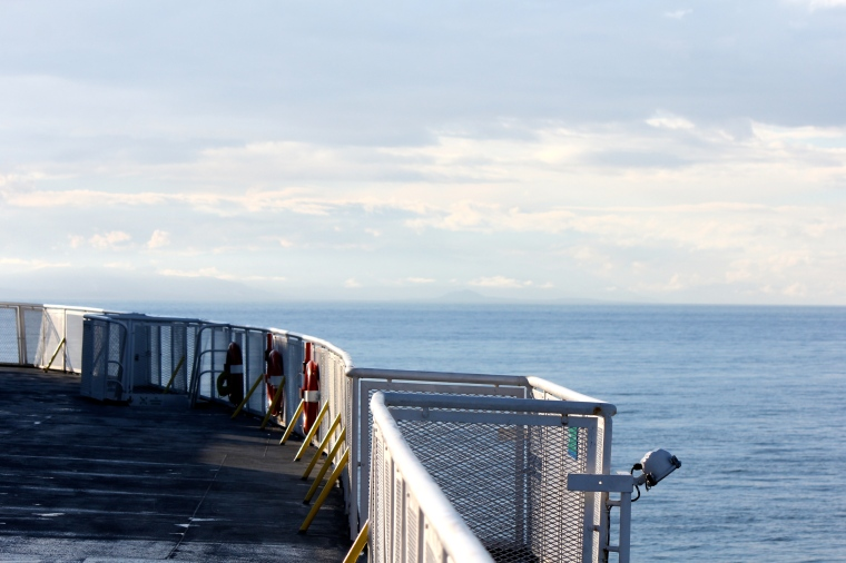 Riding BC Ferries. I do it every weekend.